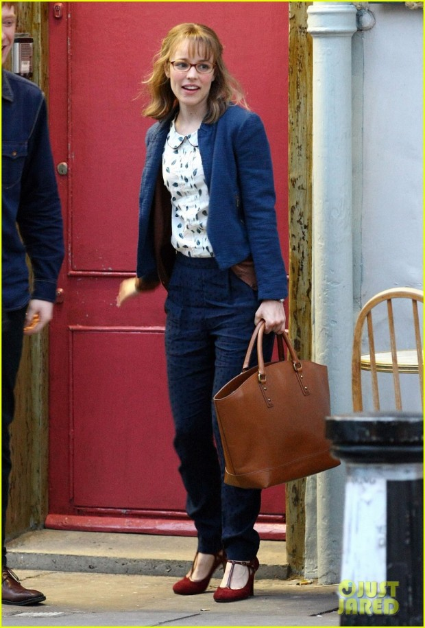Rachel McAdams Has A New Look On Set