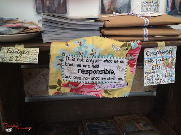 The Ladybug Chronicles - Handmade London 2014 05
