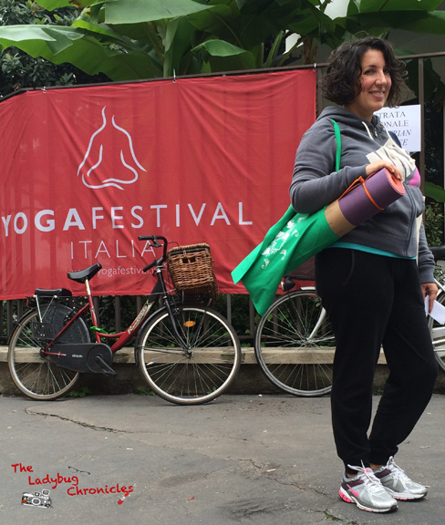 The Ladybug Chronicles - Yoga Festival 02