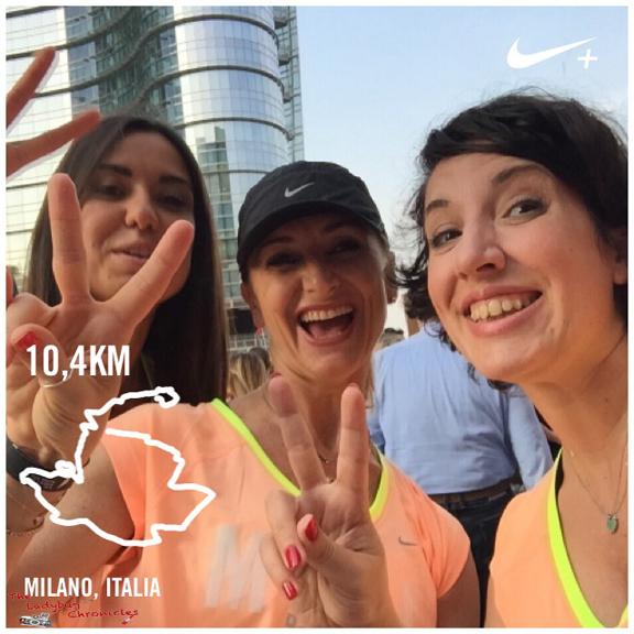 The Ladybug Chronicles - Nike Run Milan 06