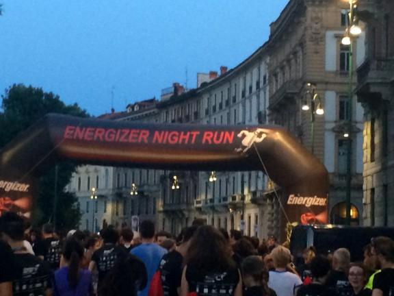 Energizer Night Run Milano 1