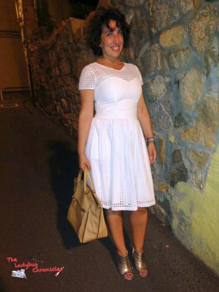 Sinequanone dress, Zara bag, Fiori Francesi ankle boots
