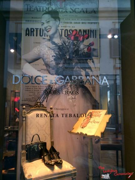 The Ladybug Chronicles - Renata Tebaldi - Dolce & Gabbana (1)