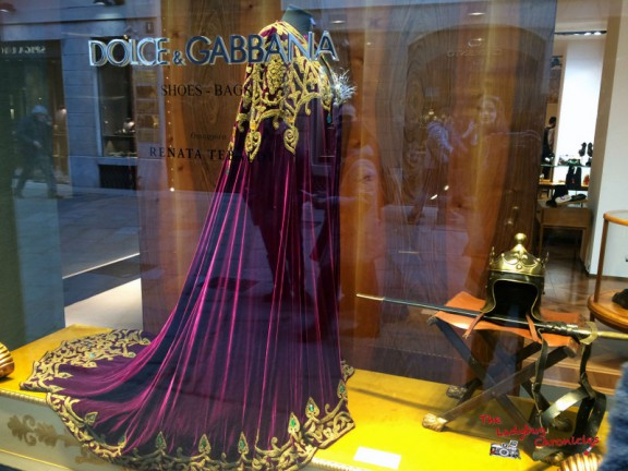The Ladybug Chronicles - Renata Tebaldi - Dolce & Gabbana (5)