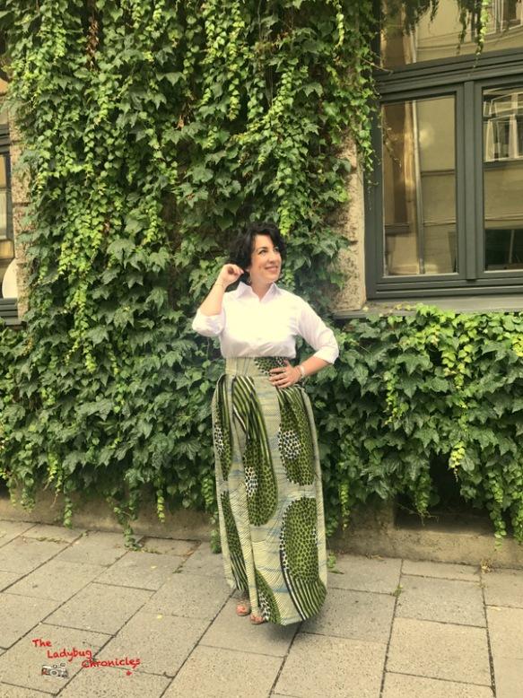 The Ladybug Chronicles green wax skirt (3)