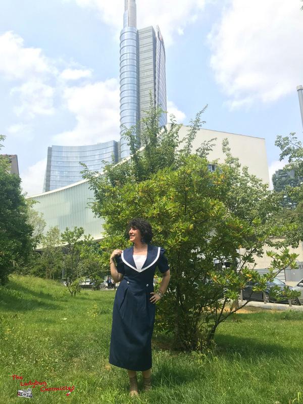 The Ladybug Chronicles Marine Dress (1)