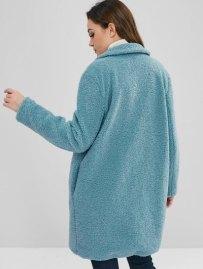WarmZAFUL Fluffy Faux Fur Winter Coat