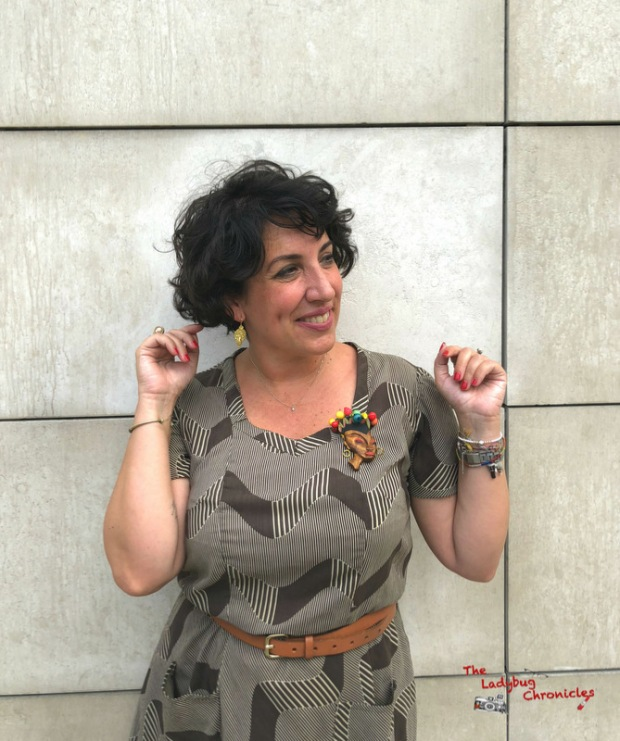 The Ladybug Chronicles Humana Brown Dress (5)