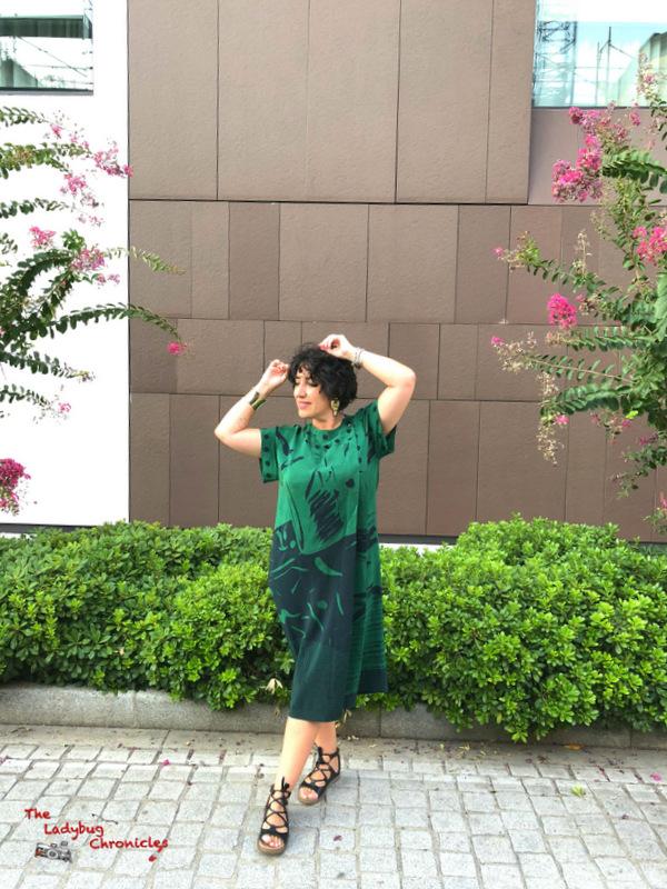 The Ladybug Chronicles Humana Green Dress (3)