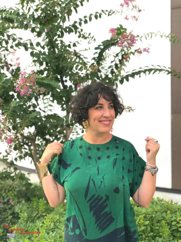The Ladybug Chronicles Humana Green Dress (5)