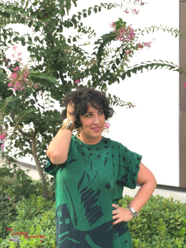 The Ladybug Chronicles Humana Green Dress (6)