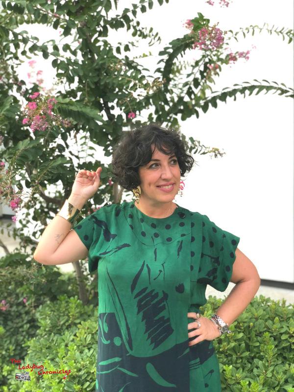 The Ladybug Chronicles Humana Green Dress (7)