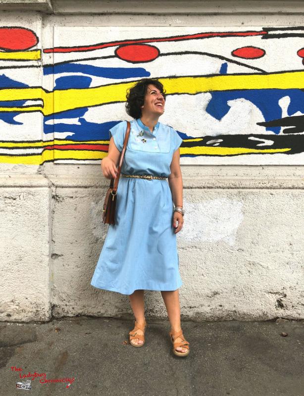 The Ladybug Humana pale blue dress (3)