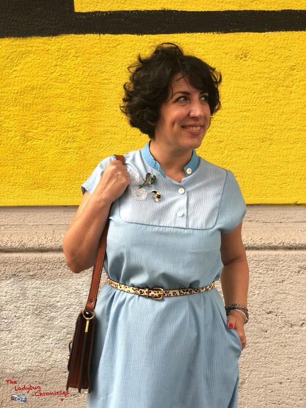 The Ladybug Humana pale blue dress (7)
