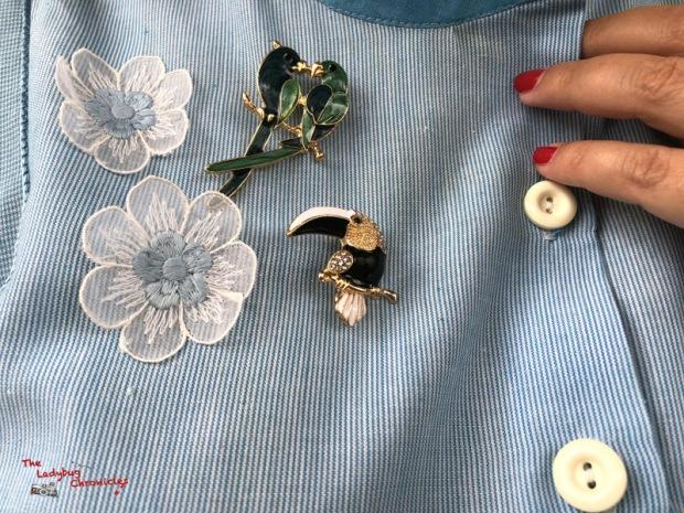 The Ladybug Humana pale blue dress (8)