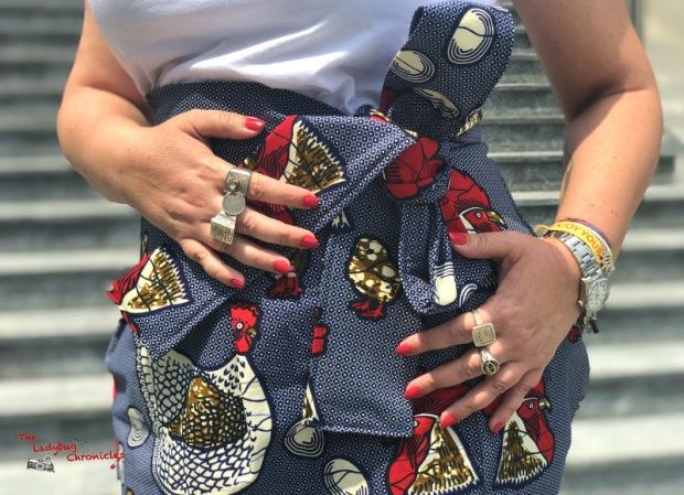 The Ladybug Chronicles Coq Wax Skirt (6)
