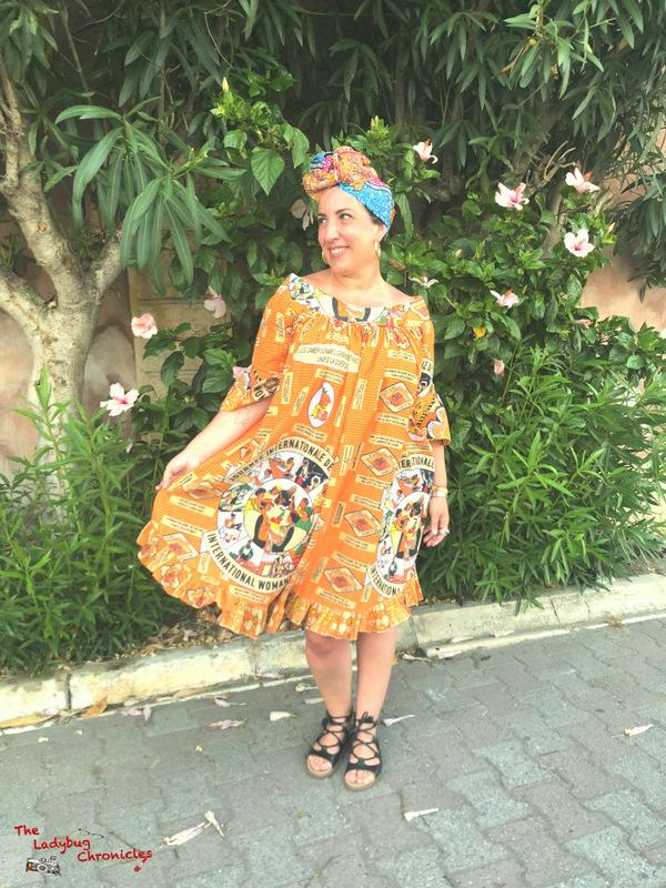 The Ladybug Chronicles Wax Vintage Dress (3)